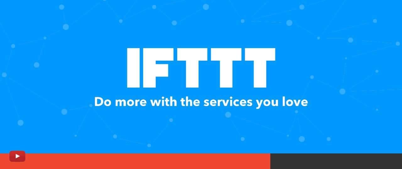 IFTTT et Webhook