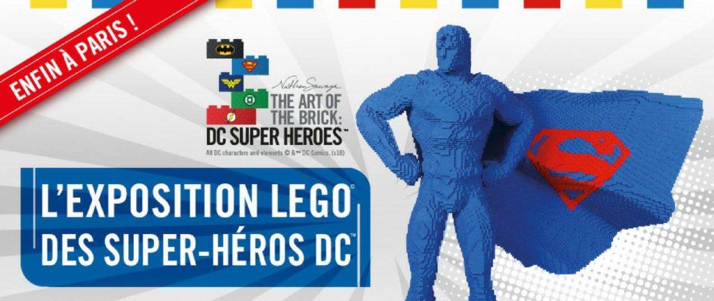 Expo DC Comics tout en Lego
