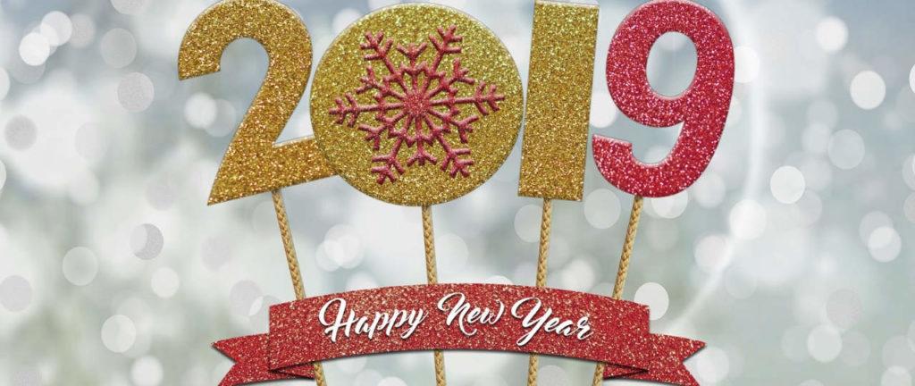 Très Bonne Année 2019 à tous !