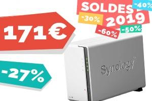 #VEILLE Le NAS Synology DS218J pour seulement 171€