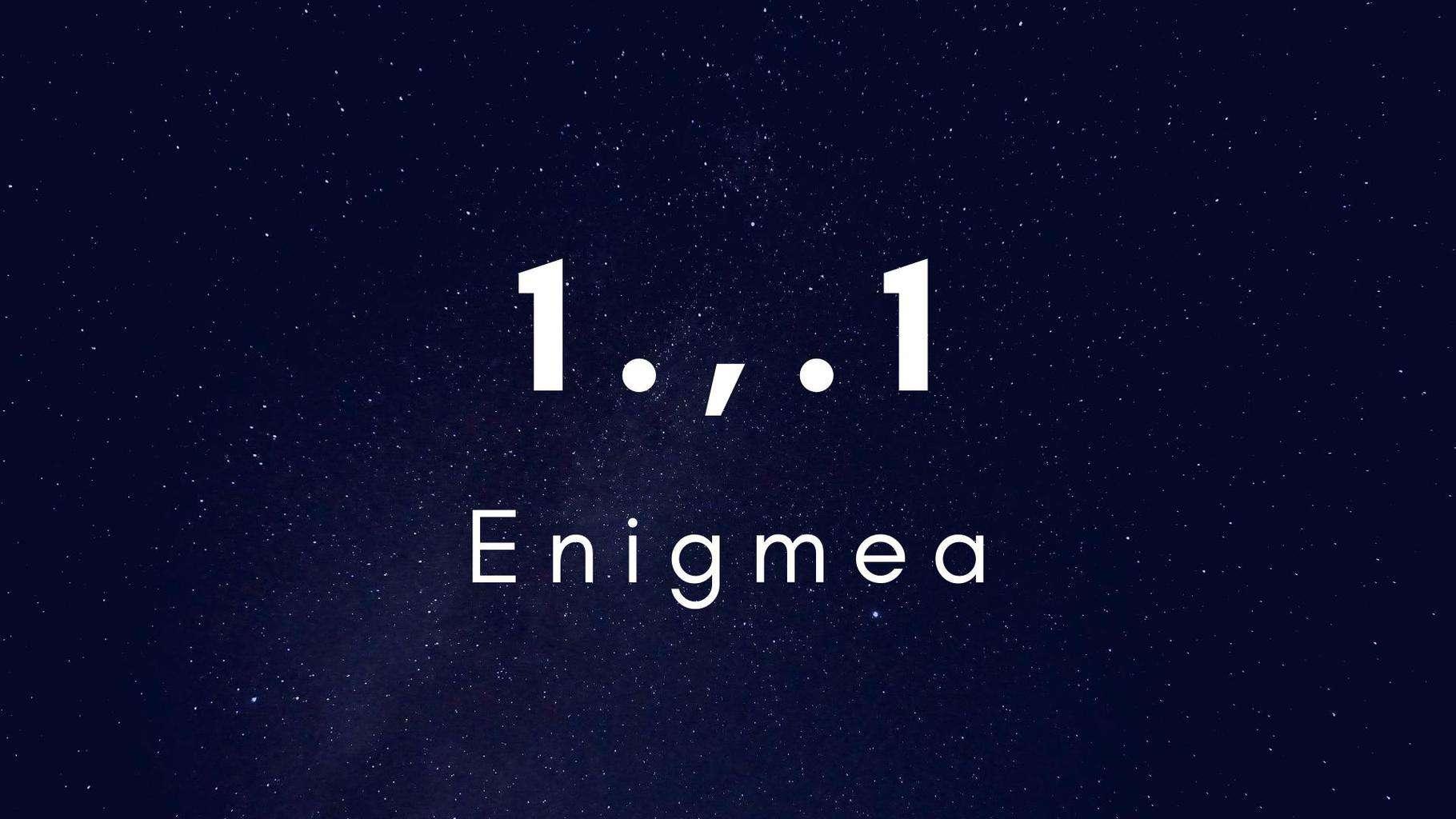 Enigmea, site d'énigmes éphémères (énigme)