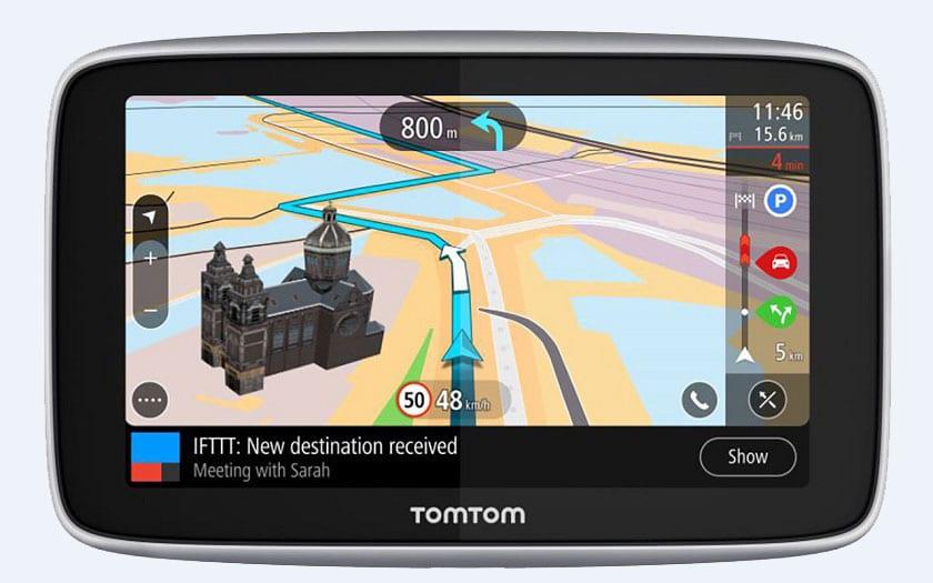Tomtom Go Premium, le GPS IFTTT