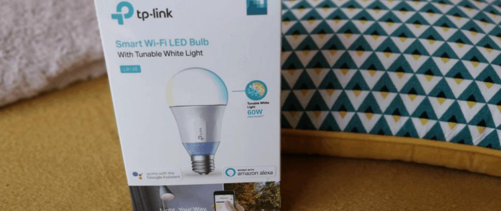 Test de l'ampoule connectée LB120 de TP-Link