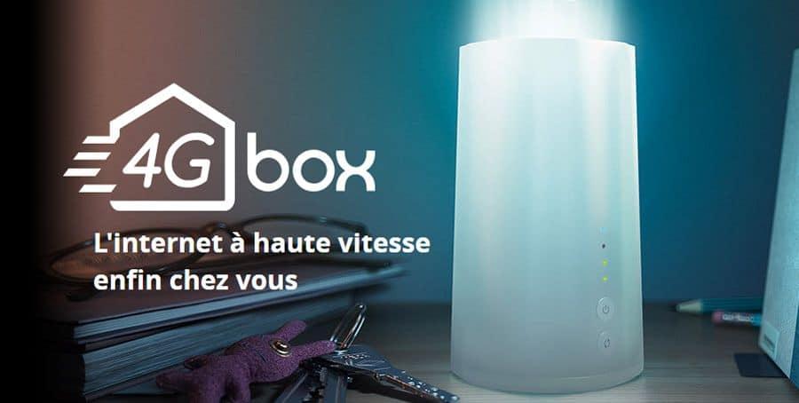 Box 4G de chez Bouygues, données illimitées