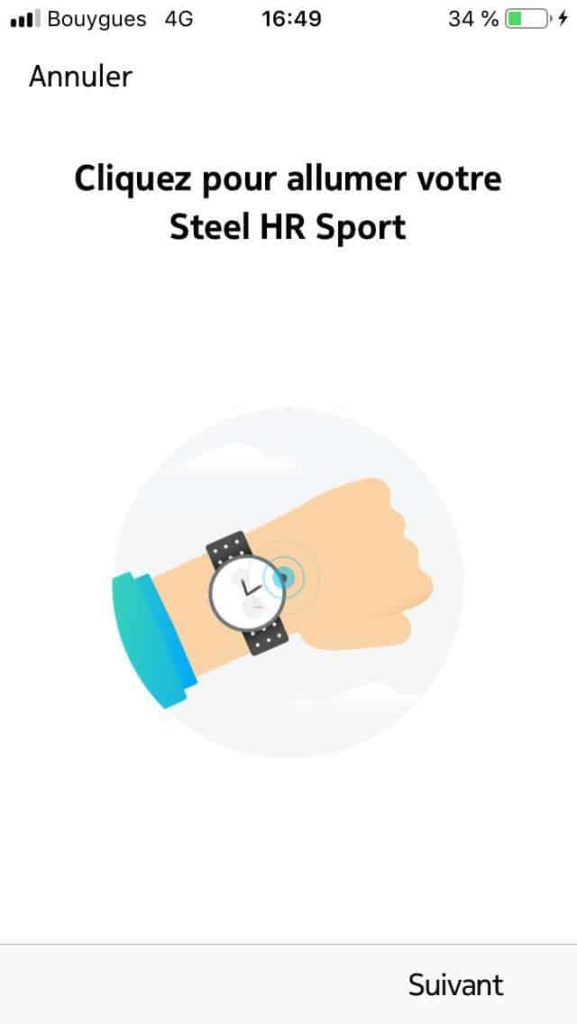 Paramétrage Steel HR Sport 03