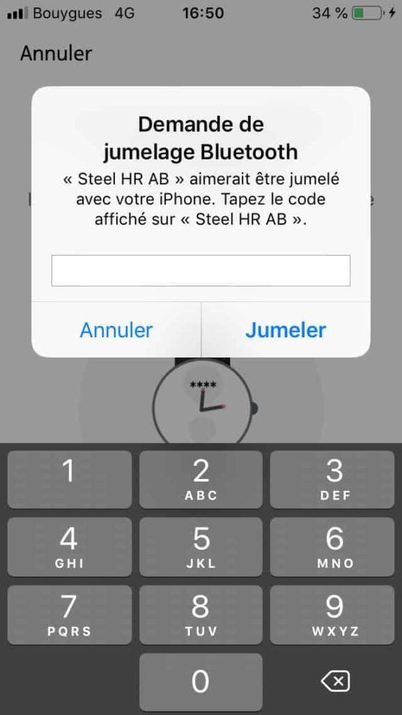 Paramétrage Steel HR Sport 05
