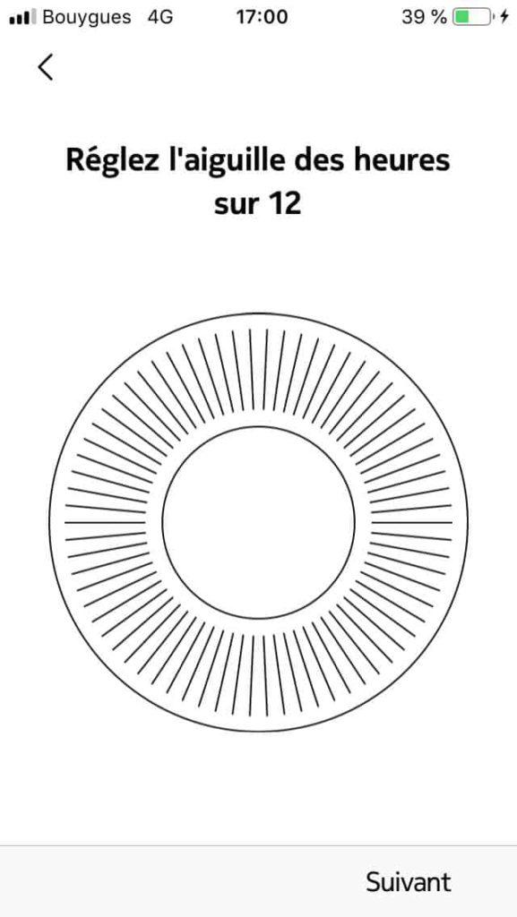 Paramétrage Steel HR Sport 16
