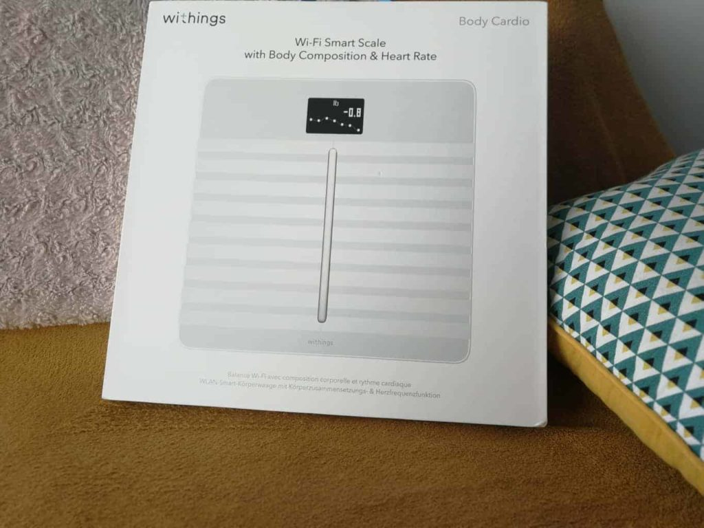 Test de la balance Body Cardio de chez Withings
