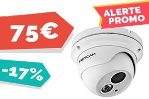#VEILLE La camera IP Foscam dôme PoE extérieure pour seulement 75€