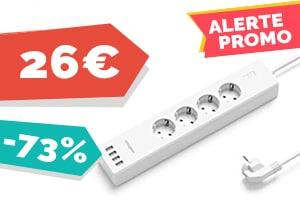 #VEILLE La multiprise connectée Koogeek pour seulement 26€
