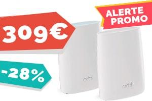#VEILLE Le kit Wifi Orbi RBK50 pour seulement 309€
