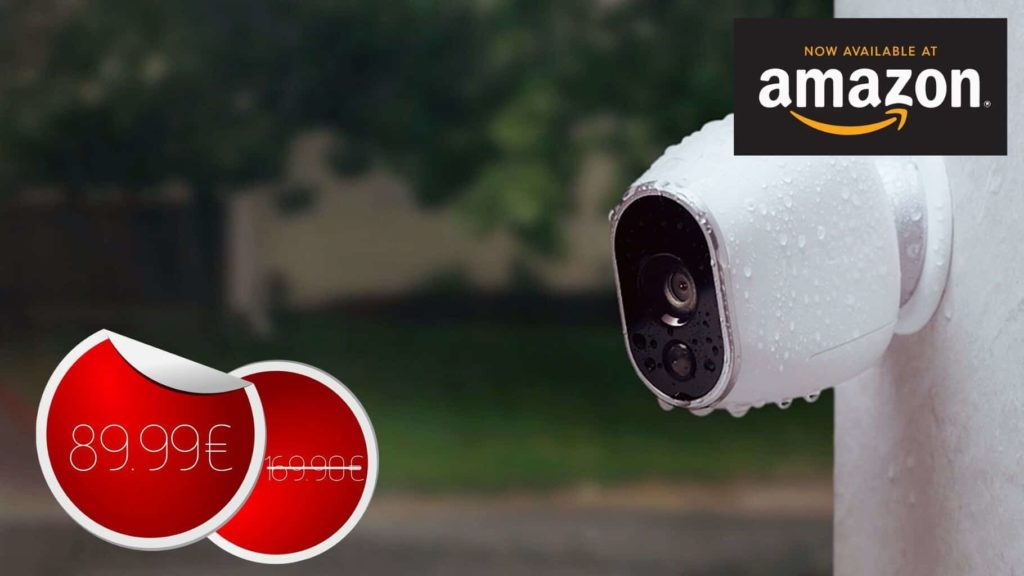 Arlo – Caméra additionnelle HD 100% sans Fil à 89.99€ #BonPlan