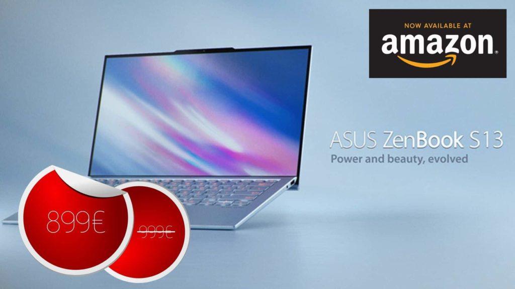 Asus ZenBook Ultrabook 13,3″ Bleu à 899€ #BonPlan