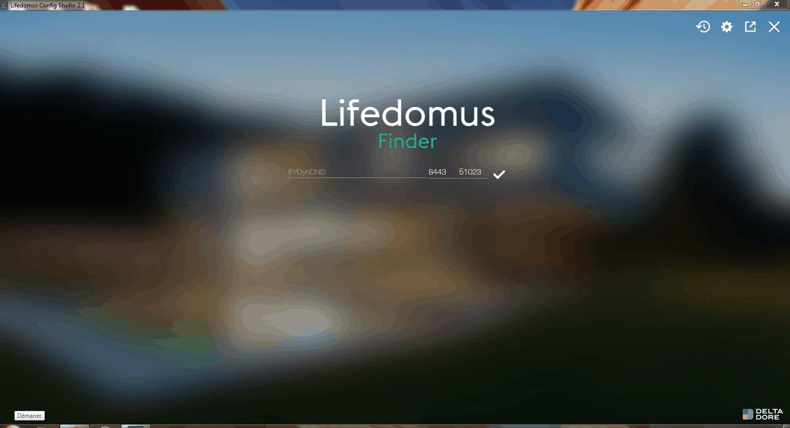 Découverte box Lifedomus