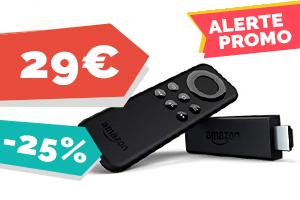 #VEILLE L'amazon fire tv stick pour seulement 29€