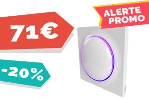 #VEILLE Le tout nouveau interrupteur Fibaro pour seulement 71€