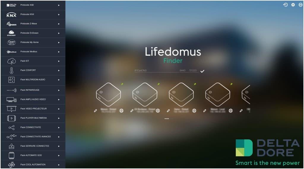 Découverte du logiciel Config Studio de Lifedomus