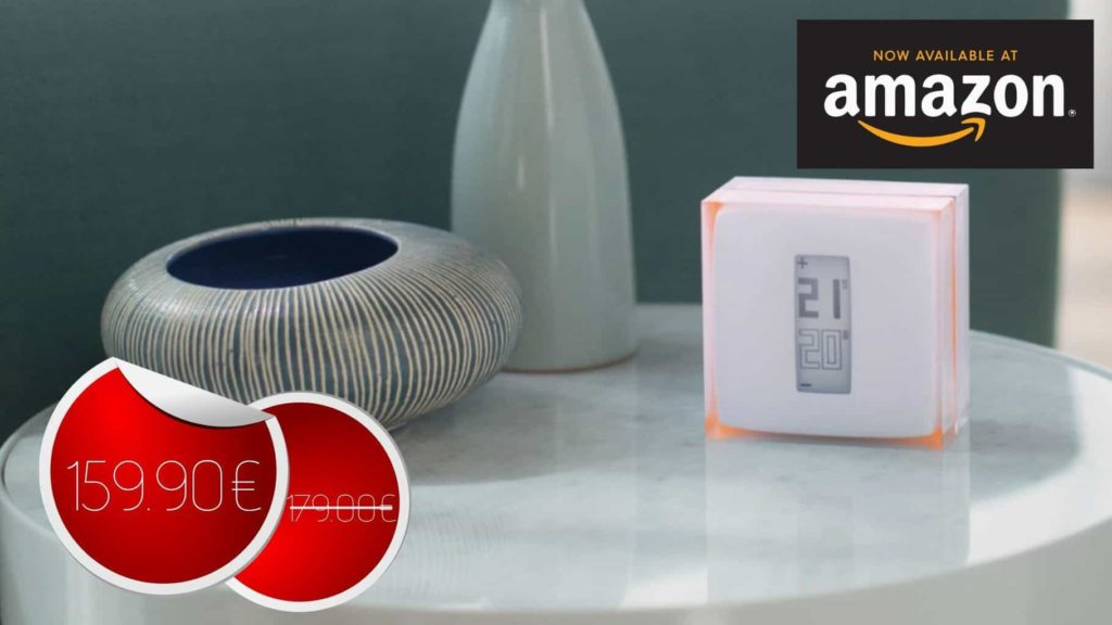 Netatmo – Thermostat Connecté pour chaudière individuelle à 159.90€ #BonPlan
