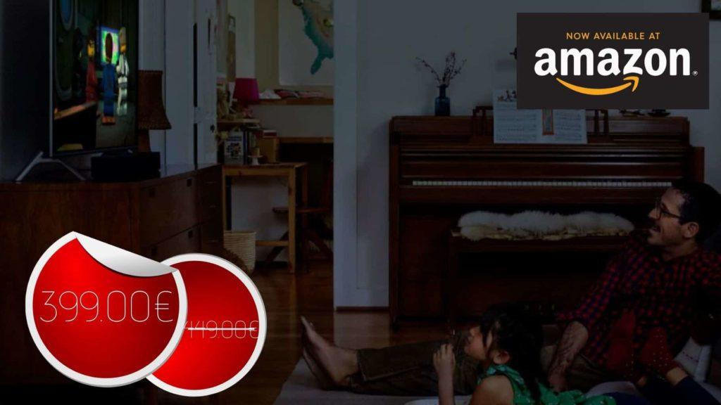 Sonos Beam – La Barre de Son TV avec le service vocal Amazon Alexa intégré à 399€ #BonPlan