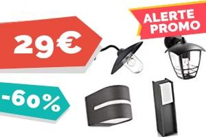 #VEILLE Super promos sur le luminaire d'extérieur Philips, jusqu'a -60%