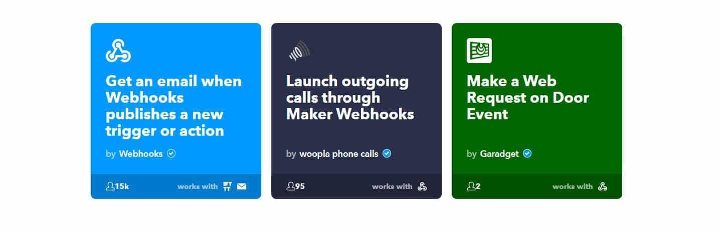Applet Webhook