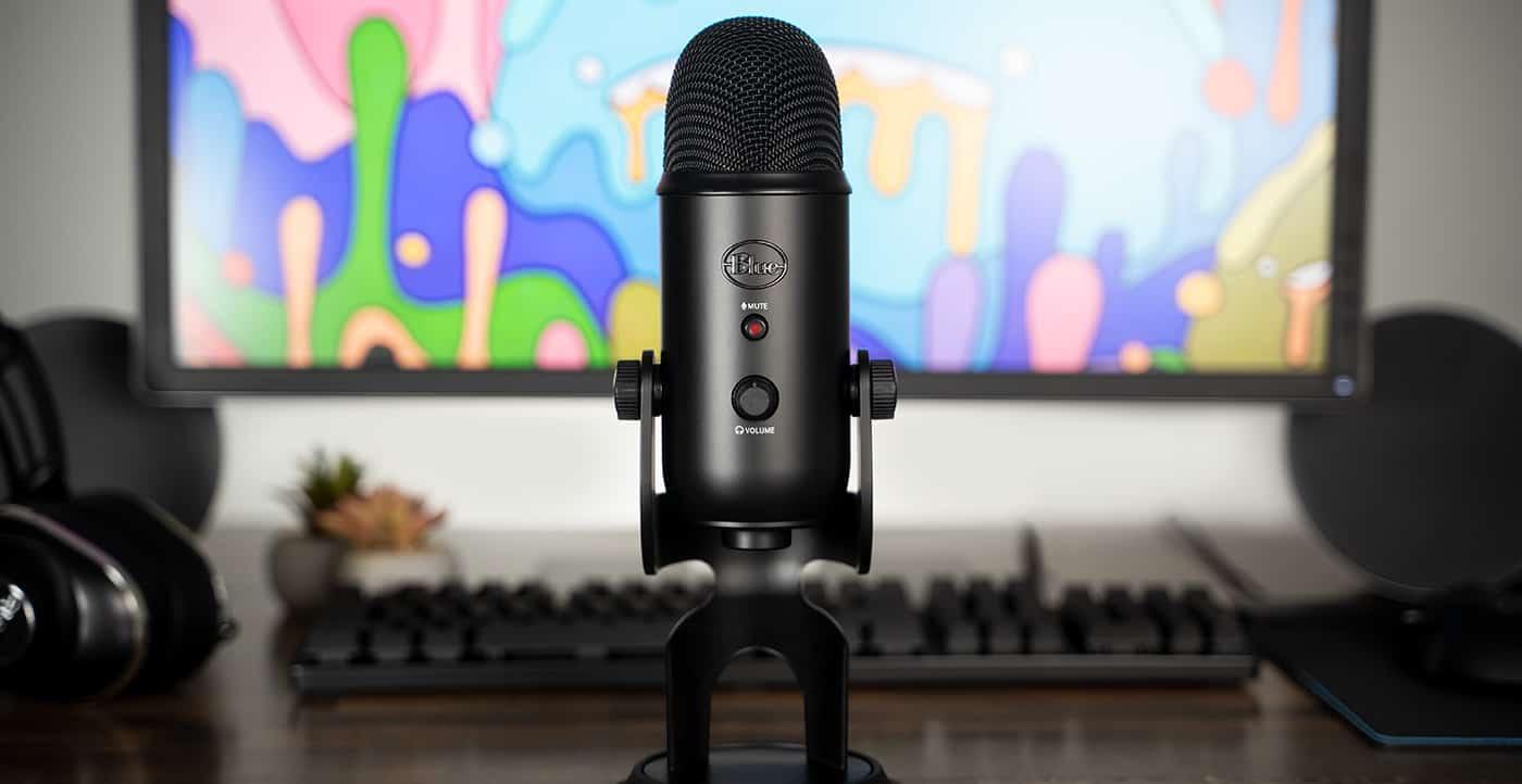 Test du microphone Yeti de la société Blue - Domo & Geek