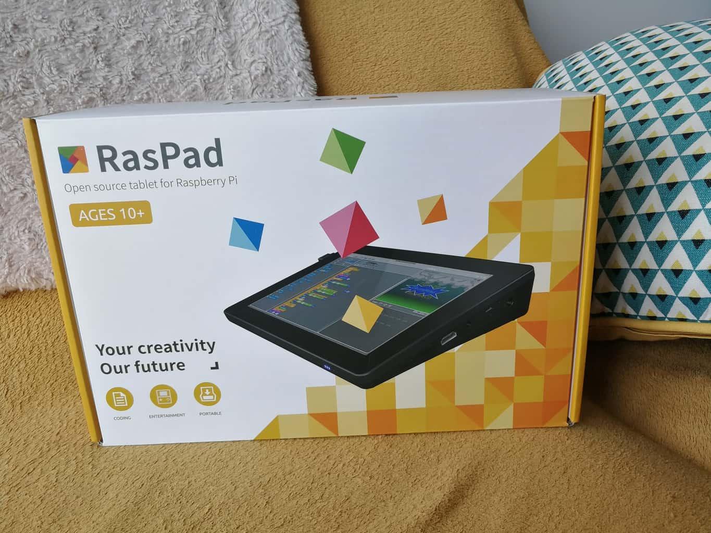 Test de la tablette Raspad