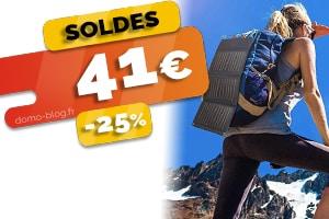 #VEILLE Le chargeur solaire pour smartphone et autres en #SOLDES pour seulement 41€