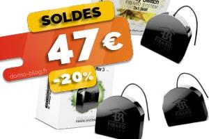 #VEILLE Les micro modules z-wave Fibaro en #SOLDES pour seulement 51€