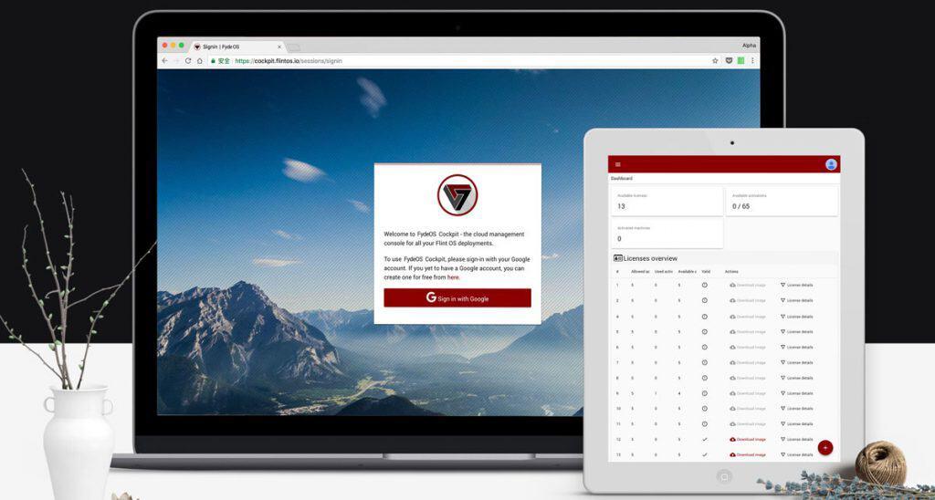 Chrome OS pour Raspad
