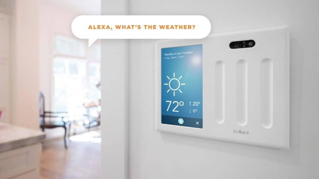 #VEILLE Brilliant Home Control: le Contrôleur domotique qui prend la place de l'interrupteur