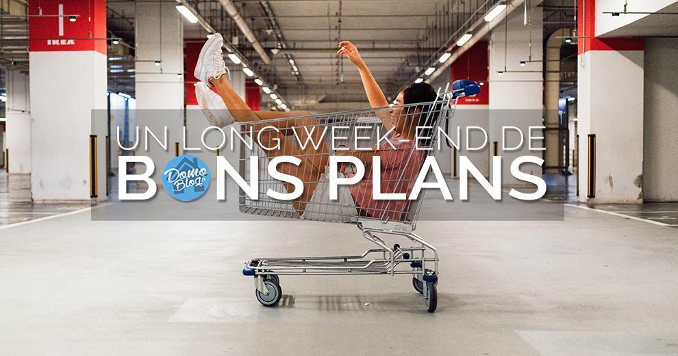 #VEILLE Domotique : Un week-end de bons plans pour la maison connectée