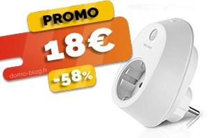 #VEILLE La prise wifi TP-Link compatible box domotique en #PROMO pour seulement 18€ (-58%)