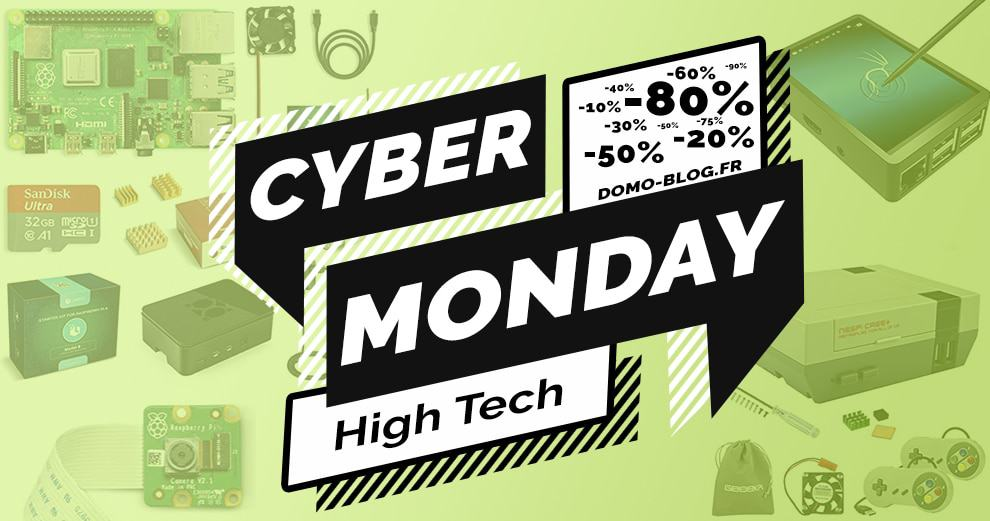 #VEILLE Cyber Monday : Les promos choc autour du raspberry Pi