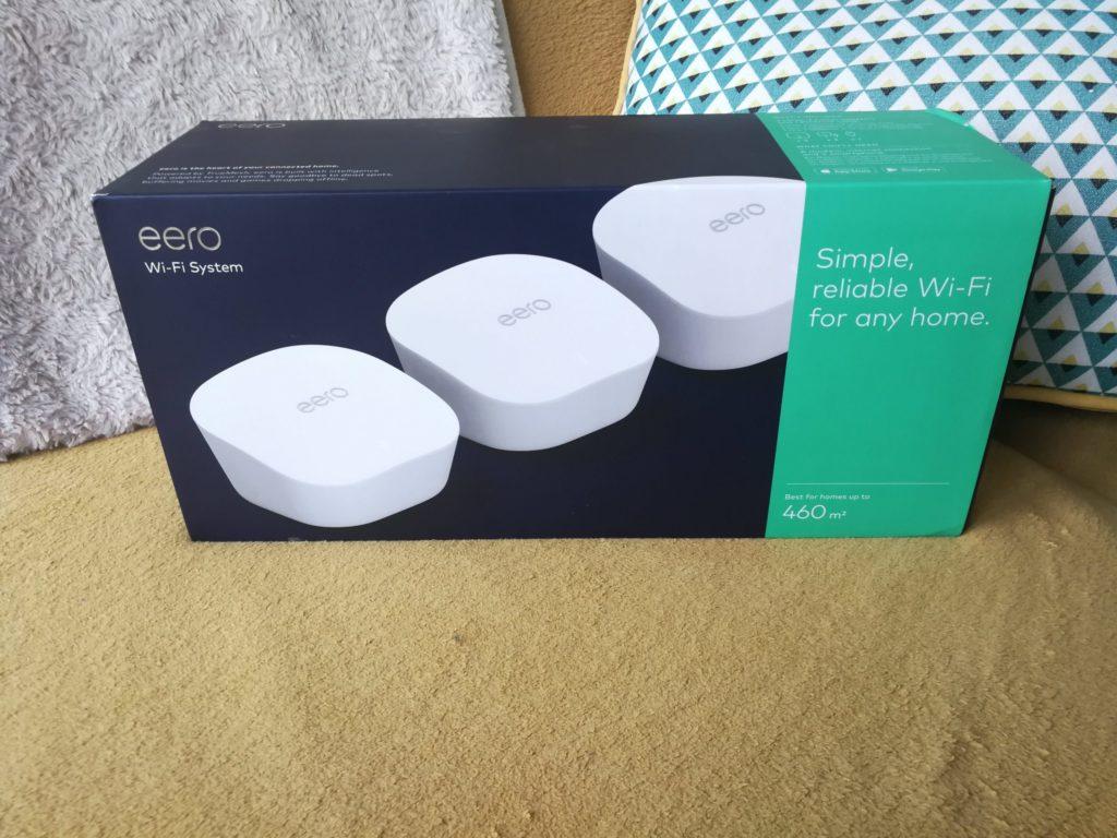 Test du système WiFi Mesh Eero de chez Amazon