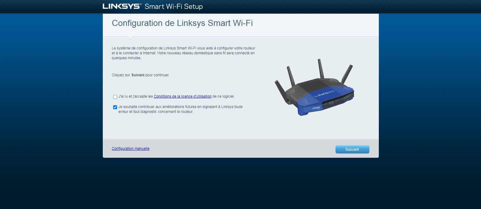 Config routeur Linksys ExpressVPN