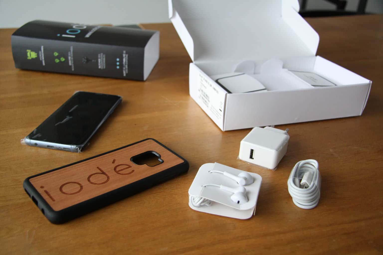 iodé smartphone samsung s9 reconditionné avec Lineage OS